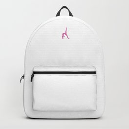 Gymnast Heartbeat Cool Gymnast Athletic Sports Gift Backpack