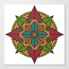 Respect Mandala Canvas Print