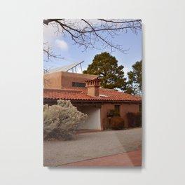 Adobe House Metal Print