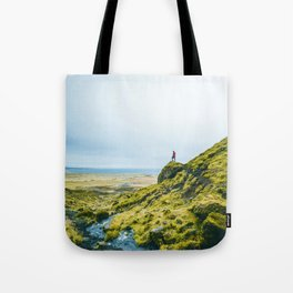 He Found the River's Valley (Color) Tote Bag