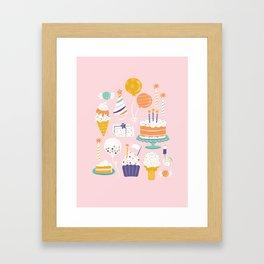 Birthday Celebration Framed Art Print
