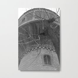 Abandoned Tower Metal Print