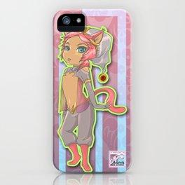 Cat The Dancer iPhone Case