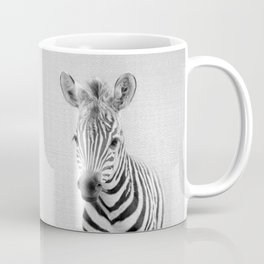Baby Zebra - Black & White Coffee Mug