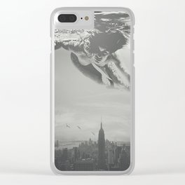 Invisible Cities Clear iPhone Case