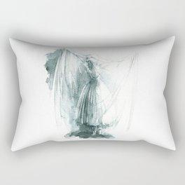 Haunted Ballerina Rectangular Pillow