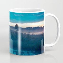 landscape of the lake at morning Coffee Mug