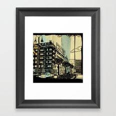 Freud II. Framed Art Print