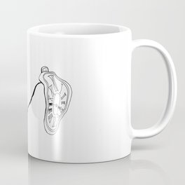 Salvador Dali Clock Mustache Coffee Mug