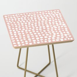 Dots / Pink Side Table