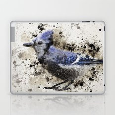 BlueJay Splatter Laptop & iPad Skin