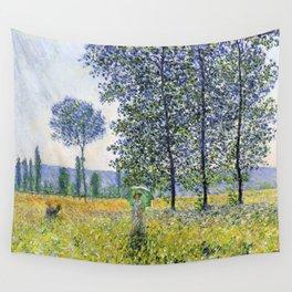 Claude Monet Sunlight Effect Under The Poplars 1887 Wall Tapestry