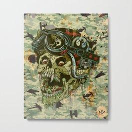 Rebel Rider Metal Print
