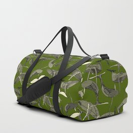 just whales green Duffle Bag