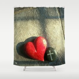 """""""Heart and Soul"""" Shower Curtain"""