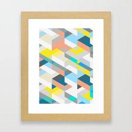 Bold Halequin Framed Art Print