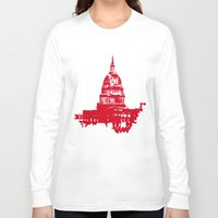 washington dc Long Sleeve T-shirts featuring Washington DC  by ialbert