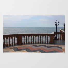 The Ringling Overlooking Sarasota Bay I Rug