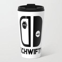 Schwifty Rick Morty Travel Mug