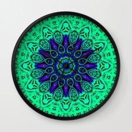 Star Flower of Symmetry 665 Wall Clock