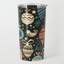 Festive Folk Charms Travel Mug