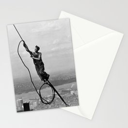 Lewis Hine - Icarus, Empire State Building, 1930 Stationery Cards