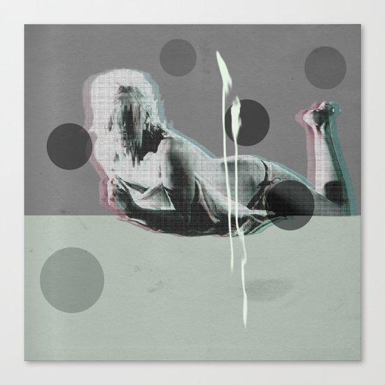 wash my soul Canvas Print
