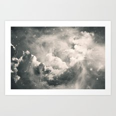 Find Me Among the Stars Art Print