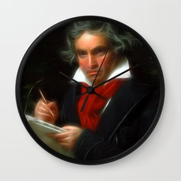 Beethoven - © Doc Braham; All Rights Reserved Wall Clock