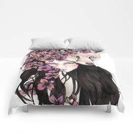 Wild Foxes Comforters