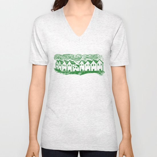 Sad Row Unisex V-Neck
