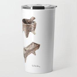 Molcajete and Metate Travel Mug
