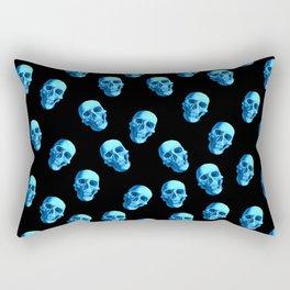 Pattern Skulls Rectangular Pillow
