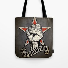 Up The Revolution! Tote Bag