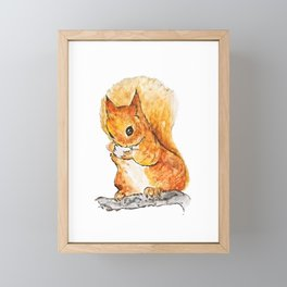 Squirrel Nutkin Peter Rabbit  Beatrix Potter Framed Mini Art Print