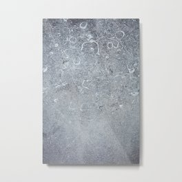 Cement Wall Texture Background  Metal Print