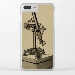 Astronomy for High Schools and Colleges (1881) - Fig. 39 - The Zenith Telescope Clear iPhone Case