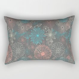 Grey Dreams Rectangular Pillow