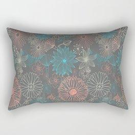 Grey Dreams Rectangular Pillow