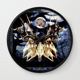 The Deer Cult Wall Clock