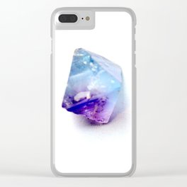 Fluorite Crystal Clear iPhone Case
