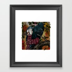 'You can keep me in one of your cages and mock my loss of liberty' Framed Art Print