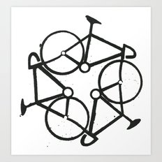 Trycycle Art Print