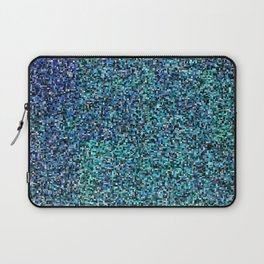 treemap mosaic - copper sulfate Laptop Sleeve