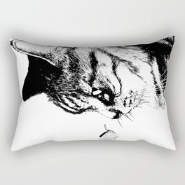 negi cat Rectangular Pillow