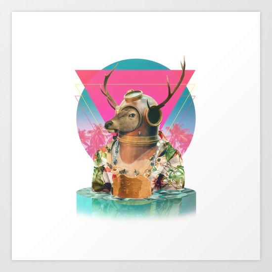 Summer Mood Art Print