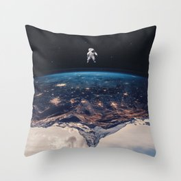 New Horizon Throw Pillow