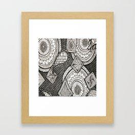 Bobbles Framed Art Print