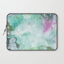 The Queen's Tear - Square Abstract Expressionism Laptop Sleeve