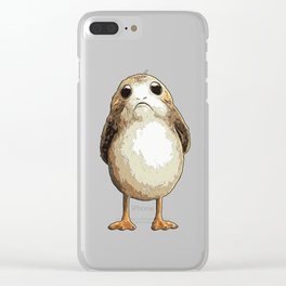 Porg Clear iPhone Case